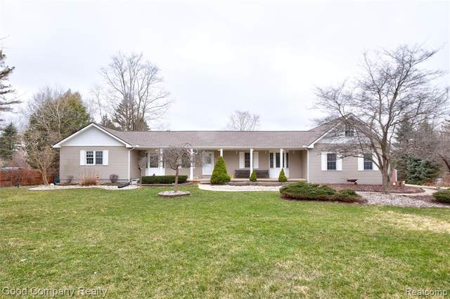 69401 Campground Road, Bruce Twp, MI 48065 (#2200024649) :: The Mulvihill Group