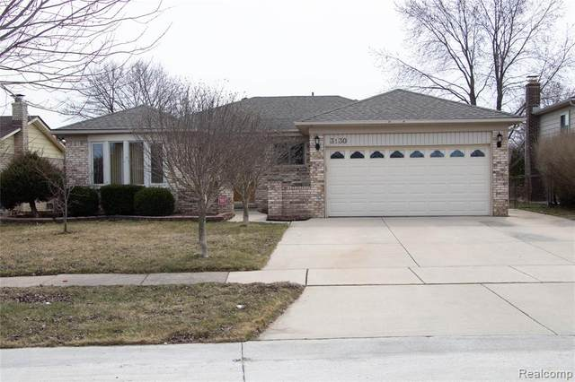 3130 Albany Drive, Sterling Heights, MI 48310 (#2200024674) :: GK Real Estate Team