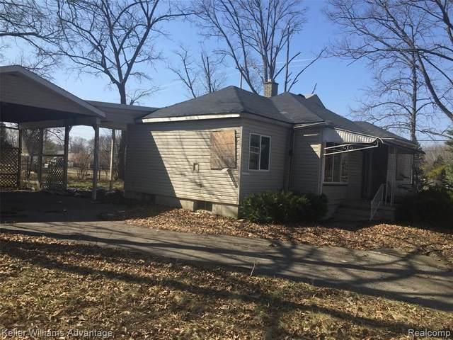 110 E Hobson Avenue, Flint, MI 48505 (#2200024833) :: Springview Realty