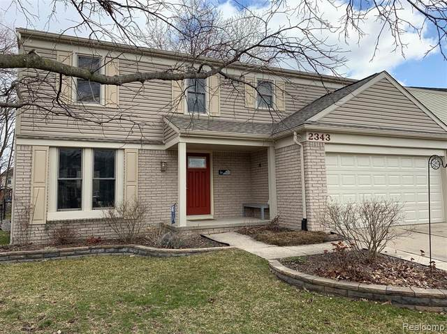 2343 W Roundtable Drive, Canton Twp, MI 48188 (#2200024905) :: GK Real Estate Team