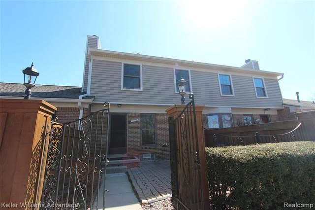 22173 Pondview, Novi, MI 48375 (#2200024908) :: Duneske Real Estate Advisors