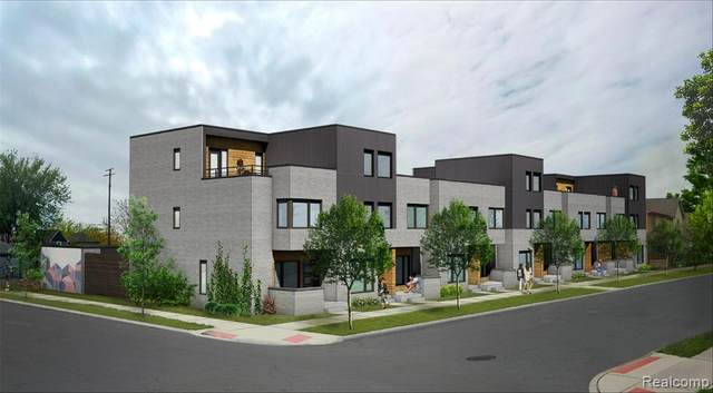 3303 Cochrane Street #9, Detroit, MI 48208 (#2200024913) :: Alan Brown Group