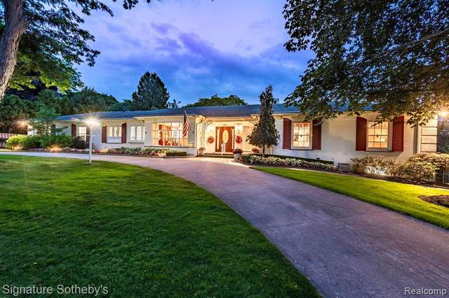 172 Chesterfield Road, Bloomfield Hills, MI 48304 (#2200024980) :: The Alex Nugent Team   Real Estate One