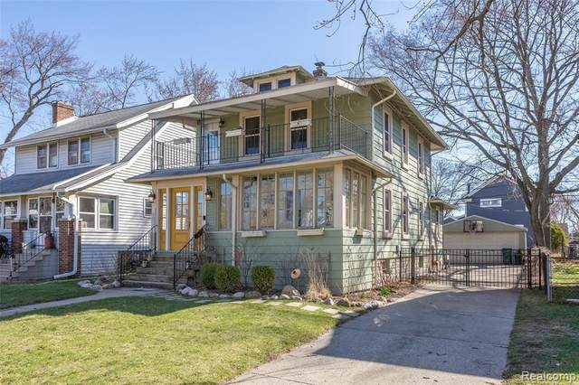1005 Longfellow Avenue, Royal Oak, MI 48067 (#2200025036) :: Alan Brown Group