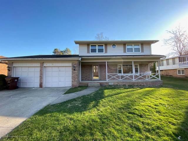 5135 River Ridge Drive, Delta Twp, MI 48917 (#630000245264) :: The Alex Nugent Team   Real Estate One