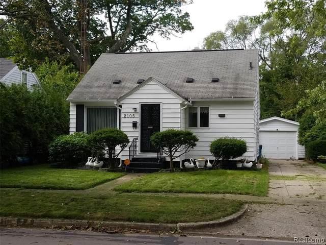 2105 Reynolds Street, Muskegon Heights, MI 49444 (MLS #2200025194) :: The Toth Team