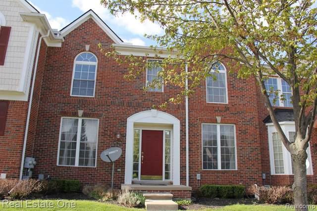 41706 Brownstone Drive, Novi, MI 48377 (#2200025224) :: GK Real Estate Team