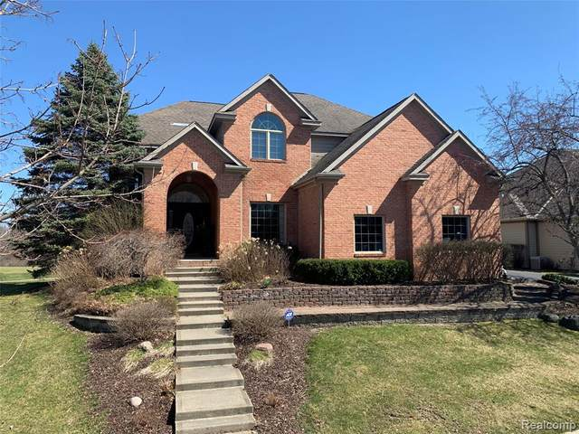 10125 Golfside Drive, Grand Blanc Twp, MI 48439 (MLS #2200025276) :: The John Wentworth Group