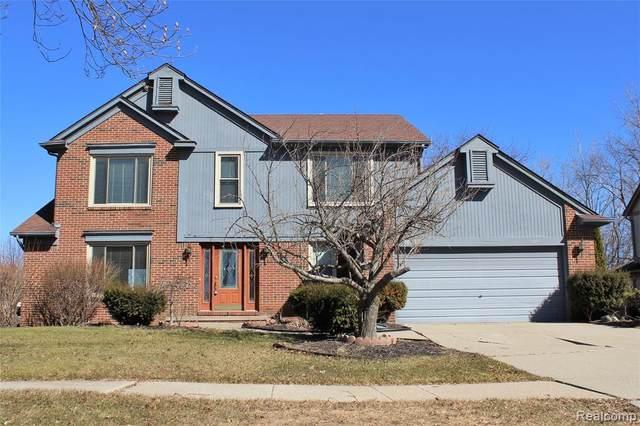 24364 Bramblewood Drive, Novi, MI 48374 (#2200025302) :: GK Real Estate Team