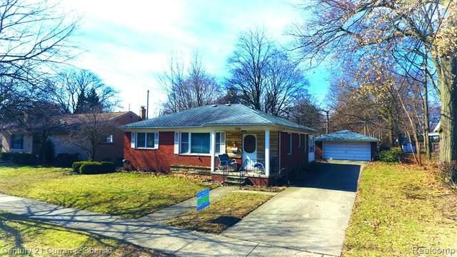 710 S Evergreen Street, Plymouth, MI 48170 (#2200025493) :: Duneske Real Estate Advisors