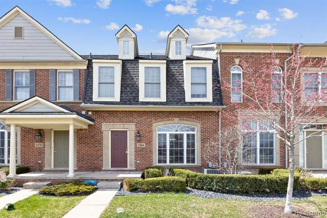 1584 Commodore Circle, Canton Twp, MI 48187 (MLS #2200025548) :: The John Wentworth Group
