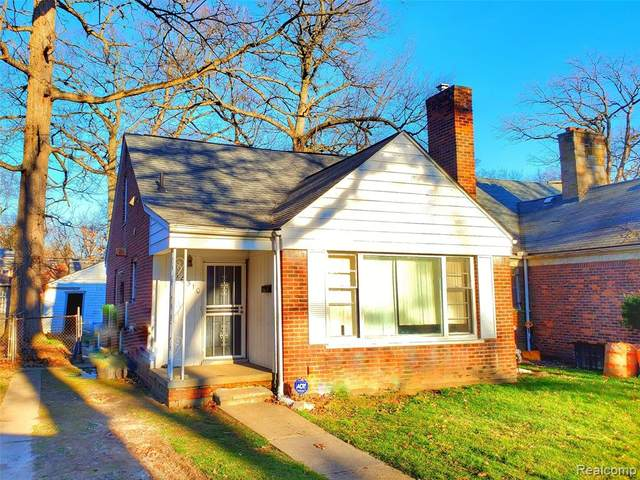 16510 Chapel Street, Detroit, MI 48219 (#2200025639) :: The Mulvihill Group