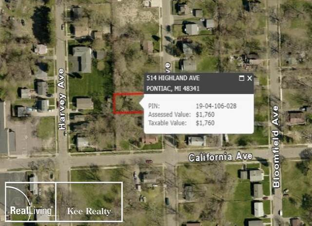 514 Highland, Pontiac, MI 48341 (MLS #58050009450) :: The John Wentworth Group