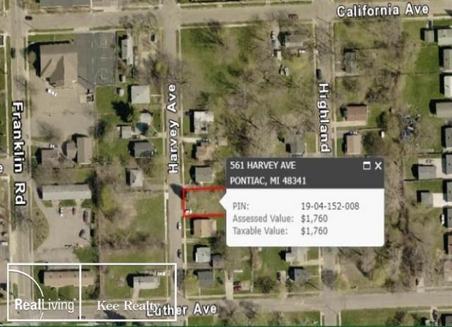 561 Harvey, Pontiac, MI 48341 (MLS #58050009452) :: The Toth Team