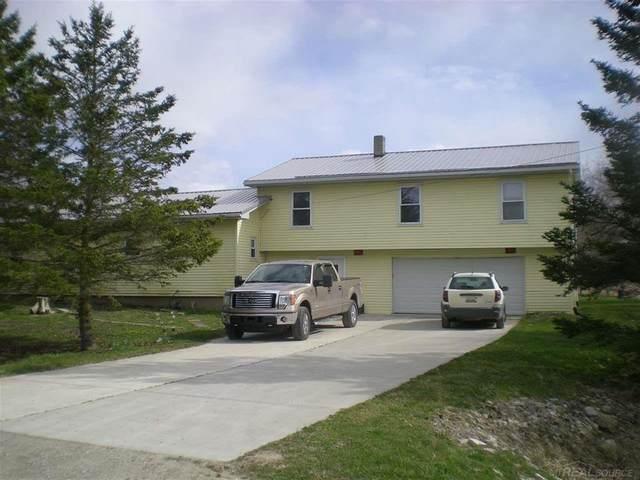 13351 Fisher Rd., Brockway Twp, MI 48454 (MLS #58050009712) :: The Toth Team