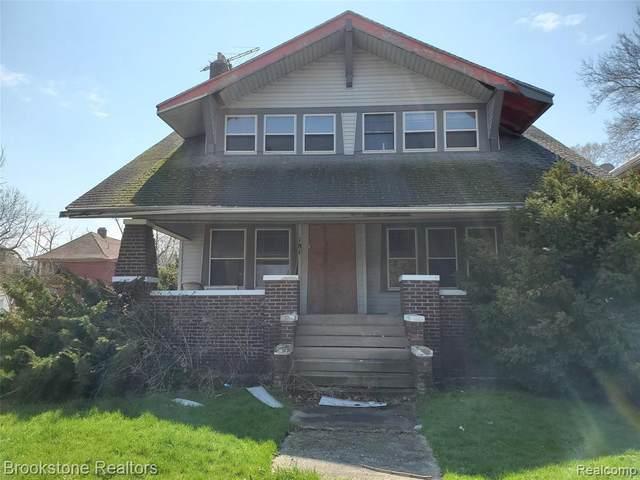 181 Puritan Street, Highland Park, MI 48203 (#2200026579) :: BestMichiganHouses.com