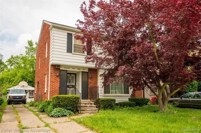 17145 Westmoreland Road, Detroit, MI 48219 (MLS #2200026677) :: The John Wentworth Group