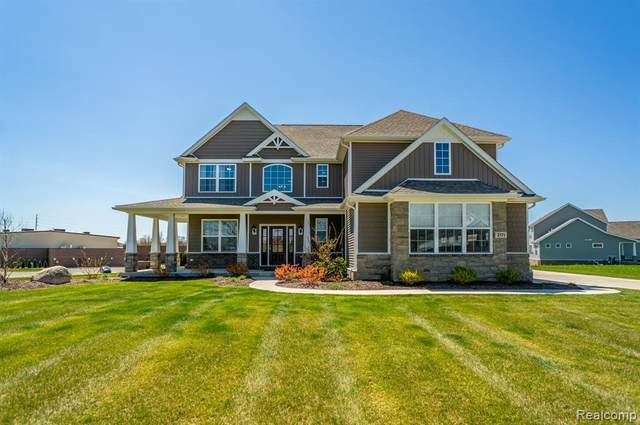2171 Walnut View Drive, Hartland Twp, MI 48855 (MLS #2200029727) :: The Toth Team