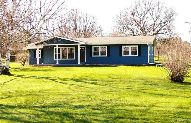 49 Turrill Road, Lapeer Twp, MI 48446 (#2200030017) :: RE/MAX Nexus
