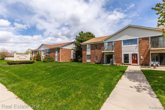 43244 Mound Road N #108, Sterling Heights, MI 48314 (#2200030476) :: Duneske Real Estate Advisors