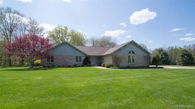 4355 Stanley Court, Superior Twp, MI 48170 (#2200030648) :: The Merrie Johnson Team