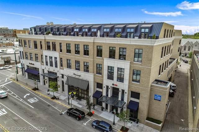 327 N Old Woodward Avenue #421, Birmingham, MI 48009 (#2200030986) :: GK Real Estate Team