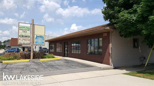311 Southbound Gratiot, Mt. Clemens, MI 48043 (#58050010942) :: The Mulvihill Group
