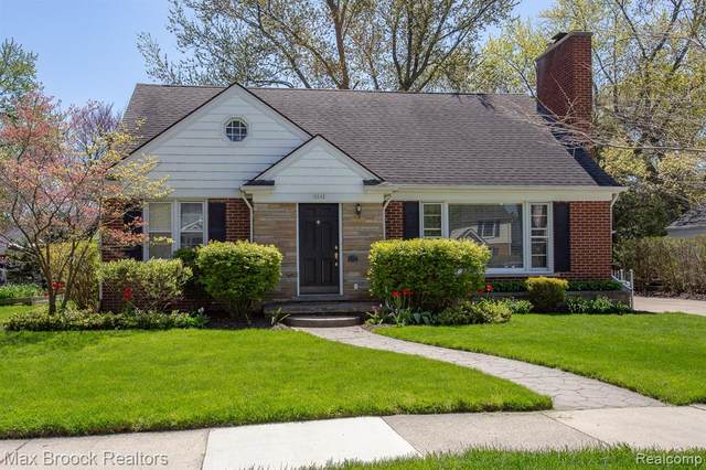 10545 Borgman Avenue, Huntington Woods, MI 48070 (#2200032174) :: RE/MAX Nexus