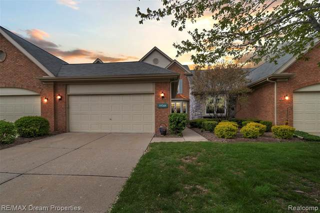 39748 Village Run Drive, Northville Twp, MI 48168 (MLS #2200032430) :: The Toth Team