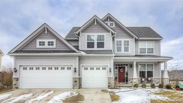 1319 Yosemite Valley Drive, Milford Twp, MI 48381 (#2200032584) :: RE/MAX Classic