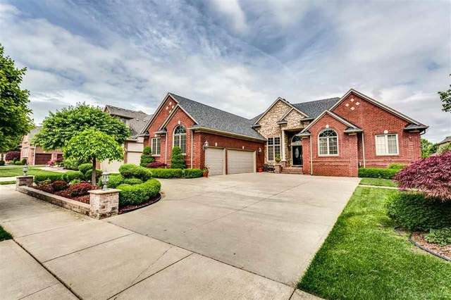 54742 Glen Oaks Dr., Shelby Twp, MI 48315 (#58050011308) :: Keller Williams West Bloomfield
