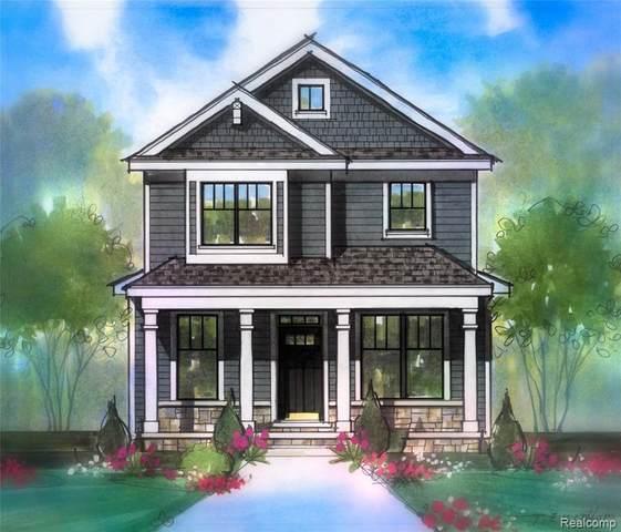 838 Princeton ( Lot A ) Road, Berkley, MI 48072 (#2200033314) :: BestMichiganHouses.com