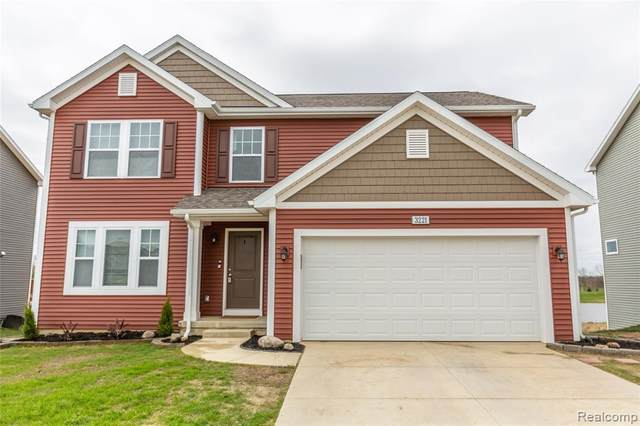 3221 Hill Hollow Lane, Howell Twp, MI 48855 (MLS #2200034008) :: The John Wentworth Group