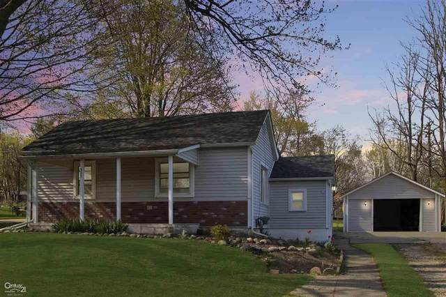 525 E Saint Clair St., Almont, MI 48003 (#58050011662) :: The Mulvihill Group