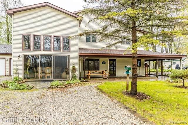 232 Ellsworth Lake Drive, Lyndon Twp, MI 48137 (MLS #2200034611) :: The Toth Team