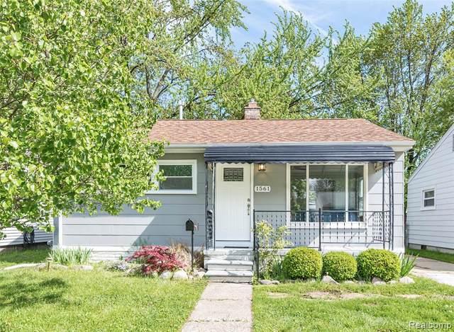 1561 E Granet Avenue, Hazel Park, MI 48030 (MLS #2200034639) :: The Toth Team
