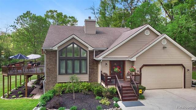 7525 White Lake Road, White Lake Twp, MI 48386 (#2200034705) :: The Merrie Johnson Team