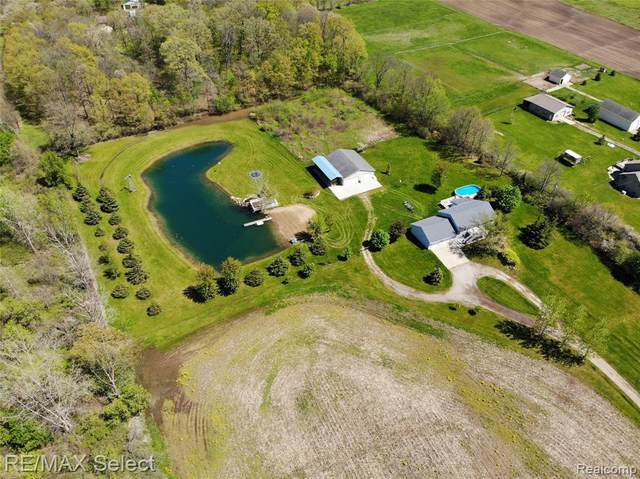 11411 Seymour Road, Argentine Twp, MI 48436 (MLS #2200034814) :: The Toth Team