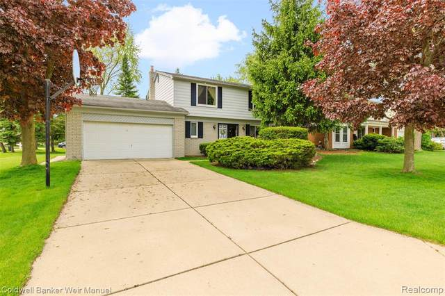3165 Palm Aire Drive, Rochester Hills, MI 48309 (MLS #2200035187) :: The Toth Team