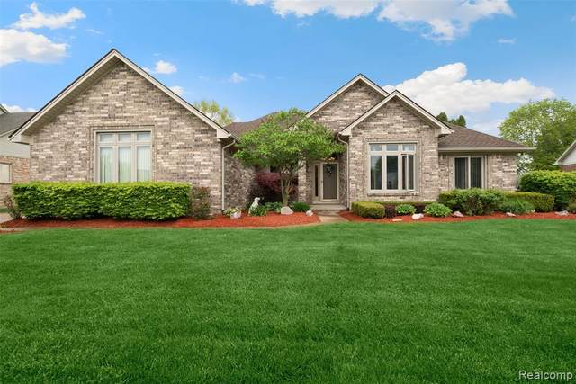 43366 Tuscany Drive, Sterling Heights, MI 48314 (MLS #2200035217) :: The John Wentworth Group