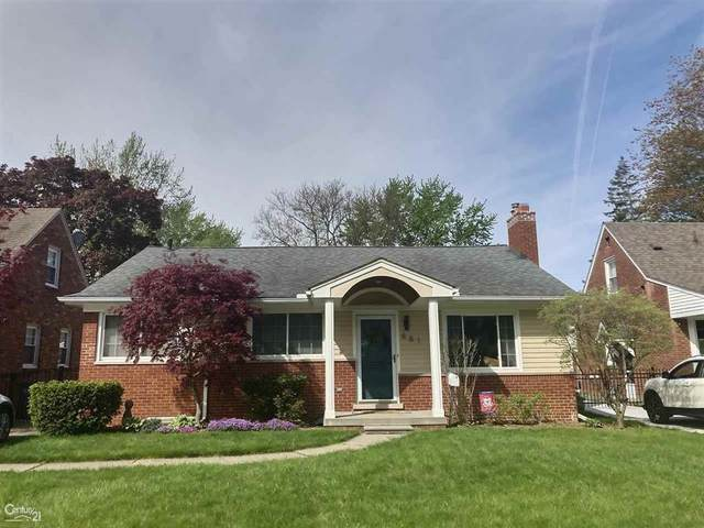 881 Lincoln, Grosse Pointe, MI 48230 (MLS #58050011903) :: The Toth Team