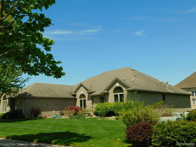 14083 Larkspur Drive, Shelby Twp, MI 48315 (#2200035261) :: BestMichiganHouses.com