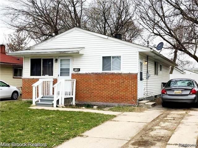 196 Harrison Street, Pontiac, MI 48341 (MLS #2200035615) :: The Toth Team