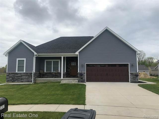 5267 Devenshire Drive, Almont Vlg, MI 48003 (#2200035856) :: The Mulvihill Group