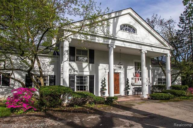 165 E Harlan Drive, Bloomfield Hills, MI 48304 (#2200035917) :: The Mulvihill Group
