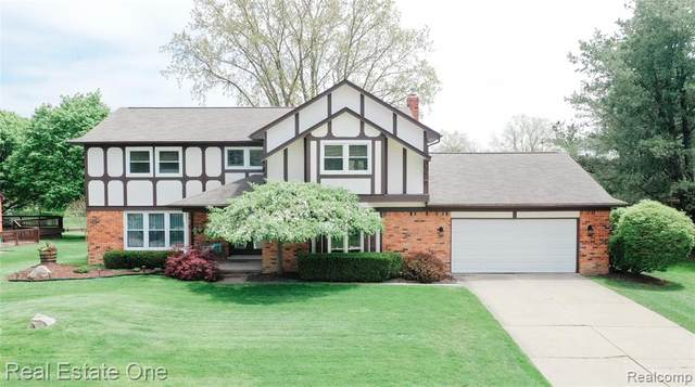 2445 Kimberly Fair Street, Rochester Hills, MI 48309 (#2200035955) :: The Alex Nugent Team   Real Estate One