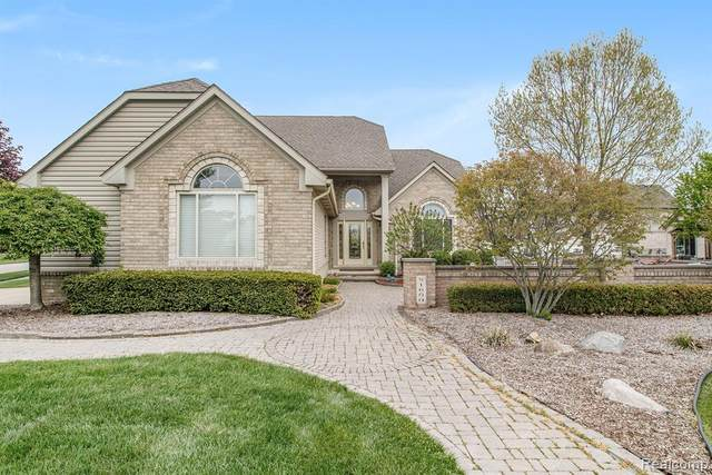 51600 Baker Road, Chesterfield Twp, MI 48047 (#2200035957) :: Alan Brown Group