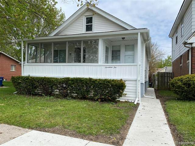 1710 Garfield Avenue, Lincoln Park, MI 48146 (MLS #2200036028) :: The Toth Team