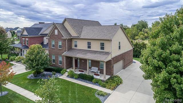 338 Dunhill Way Street, Canton Twp, MI 48188 (MLS #2200036275) :: The Toth Team