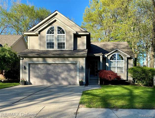 332 Lake Forest Drive, Waterford Twp, MI 48327 (MLS #2200036317) :: The Toth Team